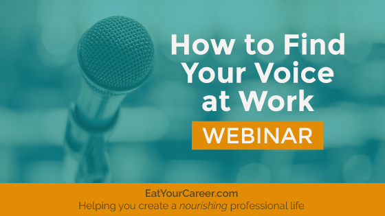 How to Find Your Voice at Work