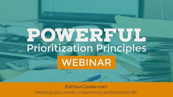 Powerful Prioritization Principles