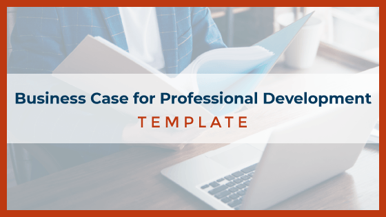Business Case for Professional Development Template